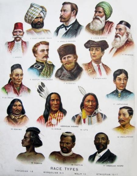 Human races - varieties
